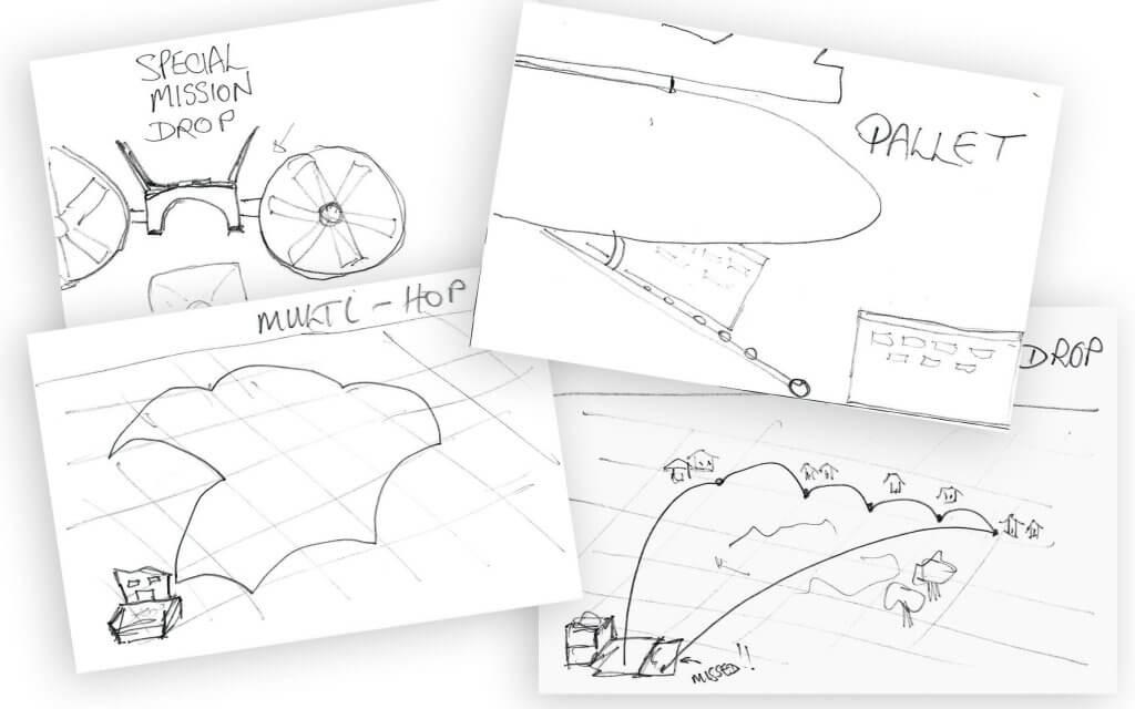 Sketches of Sky Hopper